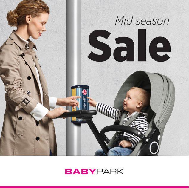 Advertentie Babypark mid season sale