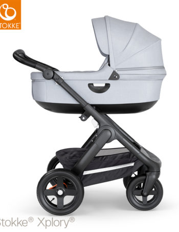 Stokke® Trailz™ Terrain Pack Black - Black - Grey Melange