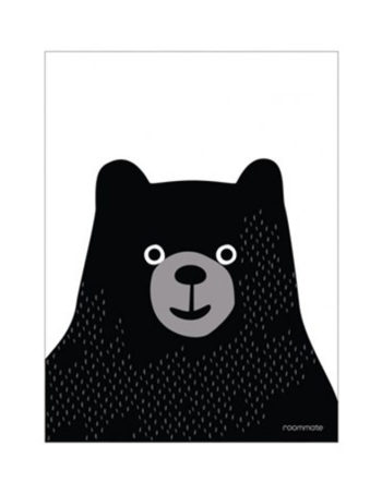 Roommate Poster Black Bear