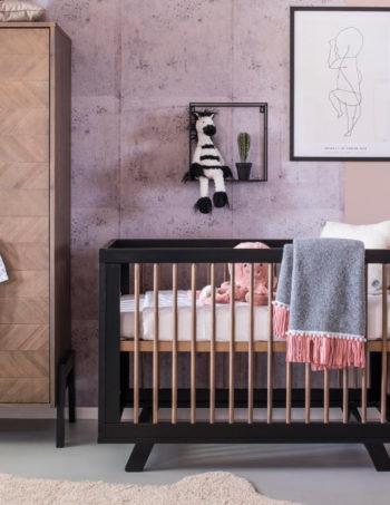 Coming Kids Harper Babykamer | Bed 60 x 120 cm + Commode