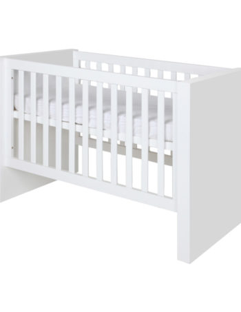 Kidsmill Bright Babybed Wit Mat 70 x 140 cm
