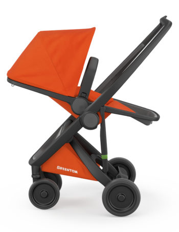 Greentom Reversible Buggy Black - Orange