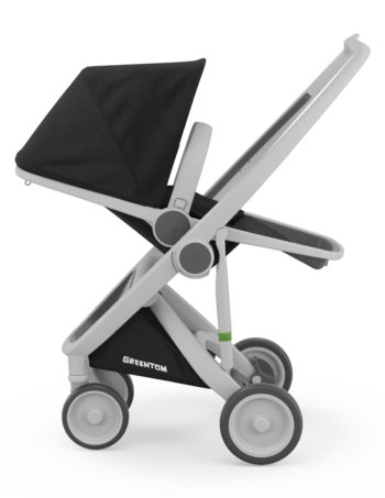 Greentom Reversible Buggy Grey - Black
