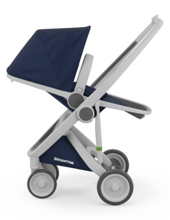 Greentom Reversible Buggy Grey - Blue
