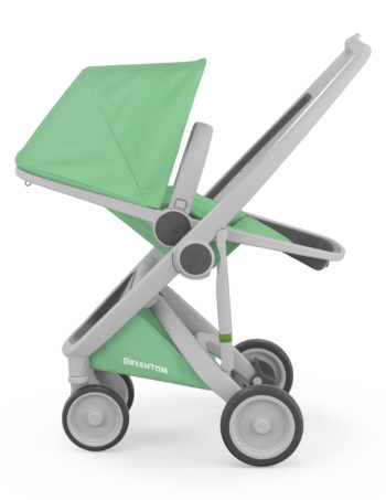 Greentom Reversible Buggy Grey - Mint