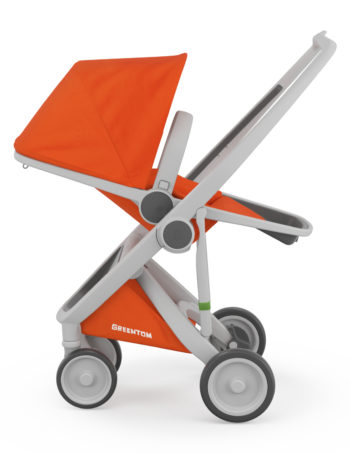 Greentom Reversible Buggy Grey - Orange