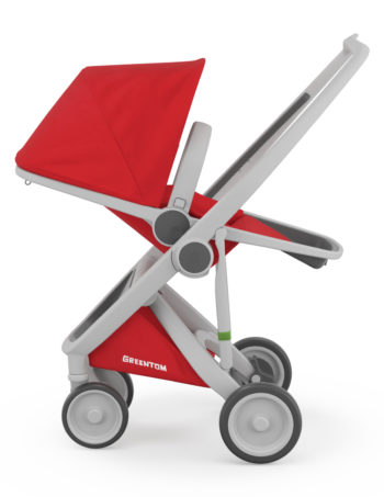 Greentom Reversible Buggy Grey - Red
