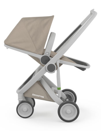 Greentom Reversible Buggy Grey - Sand