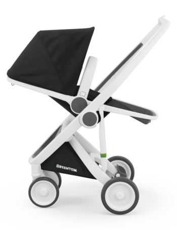 Greentom Reversible Buggy White - Black