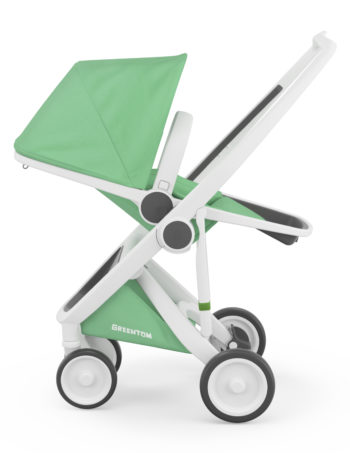 Greentom Reversible Buggy White - Mint