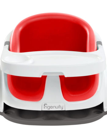Ingenuity Baby Base 2-in-1™ Stoelverhoger Poppy Red