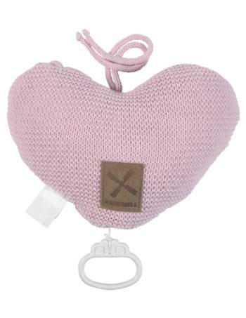 Kidsmill Knitted Muziekdoosje Pink