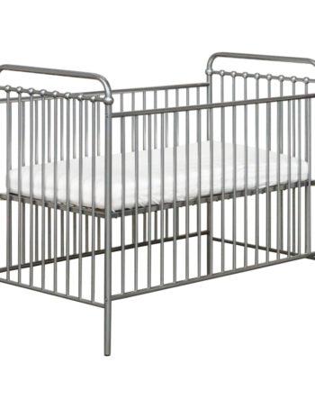 Kidsmill Tinn Babybed Zilver 60 x 120 cm