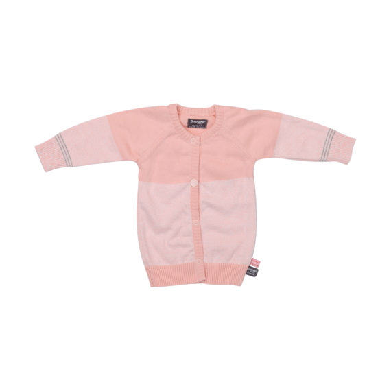 Snoozebaby Knitted Vest Light Pink Mt. 50