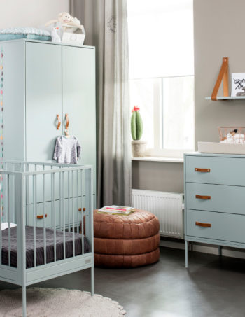 Coming Kids Bliss Babykamer Seagreen | Commode + Kast