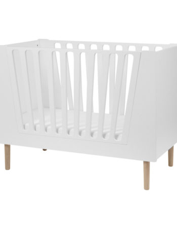 Done by Deer Babybed White 60 x 120 cm