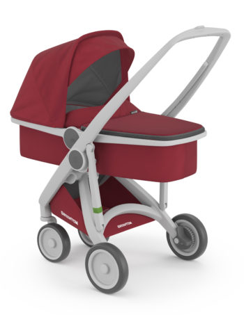 Greentom Carrycot Buggy Grey - Cherry