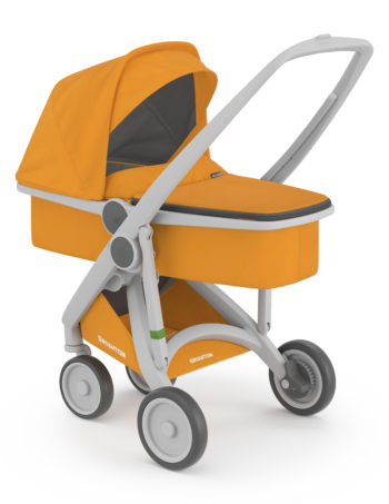 Greentom Carrycot Buggy Grey - Sunflower