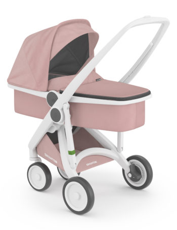 Greentom Carrycot Buggy White - Blossom