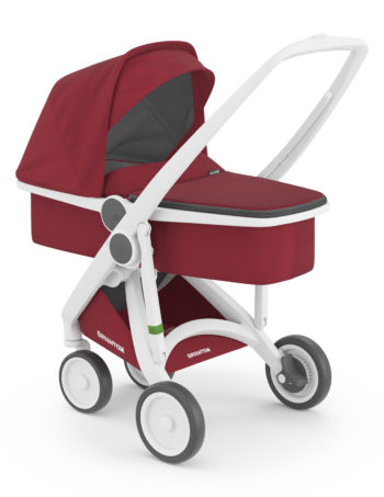 Greentom Carrycot Buggy White - Cherry