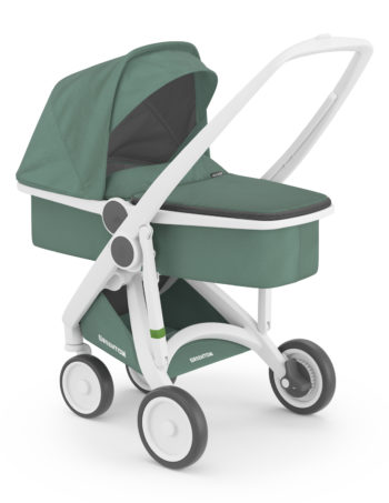 Greentom Carrycot Buggy White - Sage