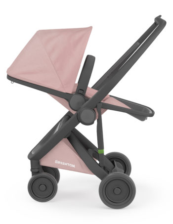 Greentom Reversible Buggy Black - Blossom