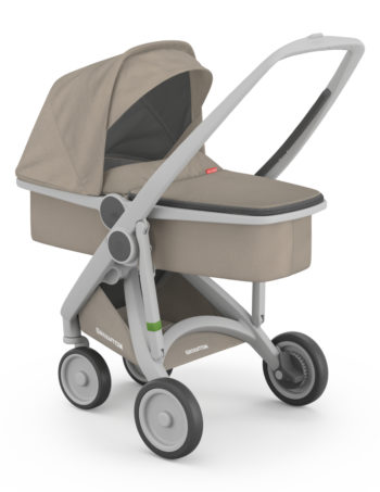 Greentom Carrycot Buggy Grey - Sand