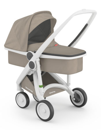 Greentom Carrycot Buggy White - Sand