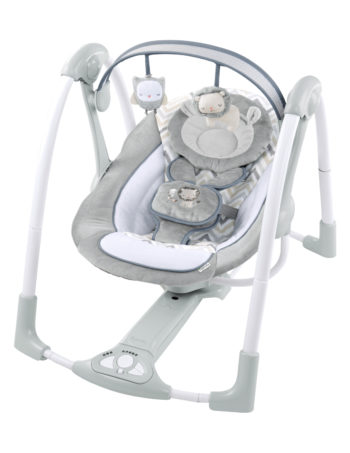 Ingenuity Babyswing Power Adapt Portable Swing Braden