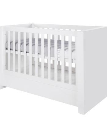 Kidsmill Bright Babybed Met Lade Wit Mat 70 x 140 cm