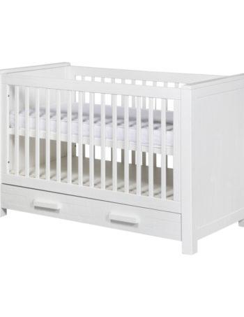 Europe Baby Juno Babybed Wit 70 x 140 cm