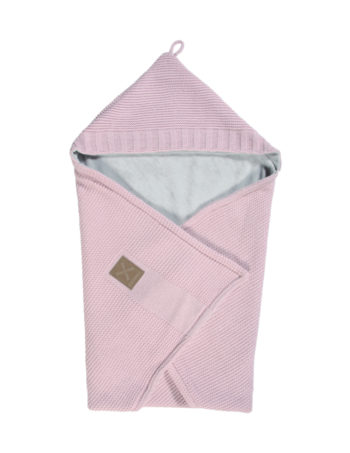 Kidsmill Knitted Badcape Pink