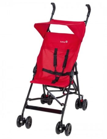 Safety 1st Buggy Peps & Canopy Plain Red