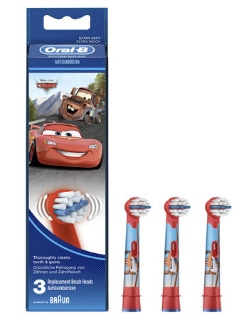 Oral B stages power kids - 3 Cars opzetborstels