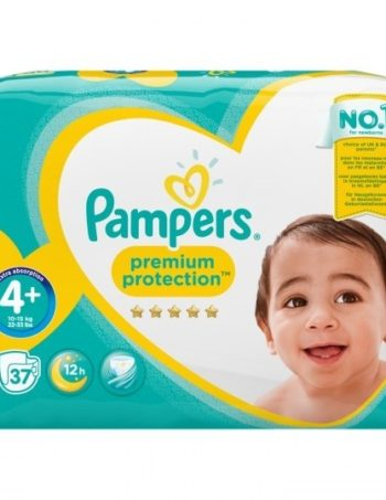 Pampers Premium Protection - Maat 4+ - Small Pack - 37 luiers