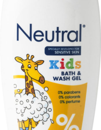 Neutral Kids Bad en Wasgel - Sensitive - Parfumvrij