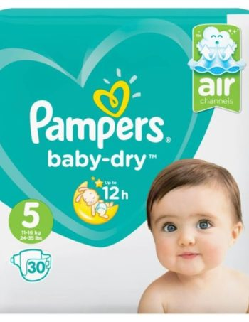 Pampers Baby Dry - Maat 5 - Small Pack - 30 luiers