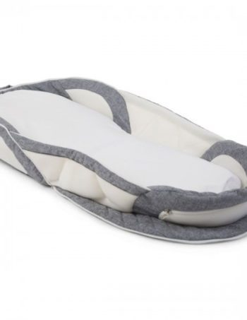 Childhome Soft Bed Easy Go White / Grey