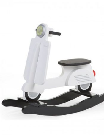 Childhome Schommelscooter Wit