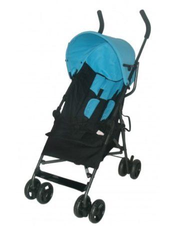 Bebies First Buggy Multi Zwart/Blauw
