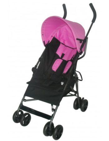 Bebies First Buggy Multi Zwart/Roze