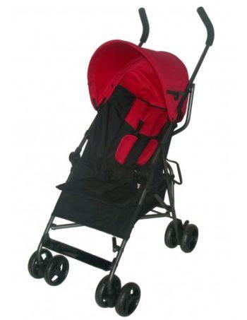 Bebies First Buggy Multi Zwart/Rood