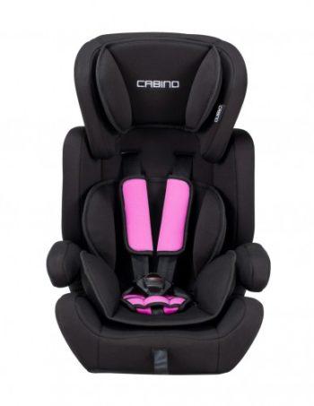 Cabino Autostoel 9-36 kg Zwart - Roze