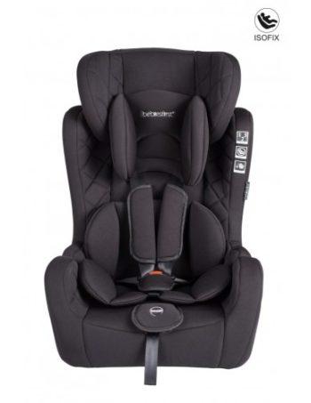 Bebies First Autostoel Grow Up & Fix Zwart