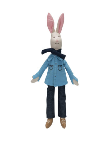 KidsDepot Bunny Doll Father 40 cm
