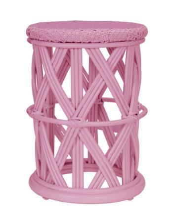 KidsDepot Clu-Clu Rotan Krukje Pink