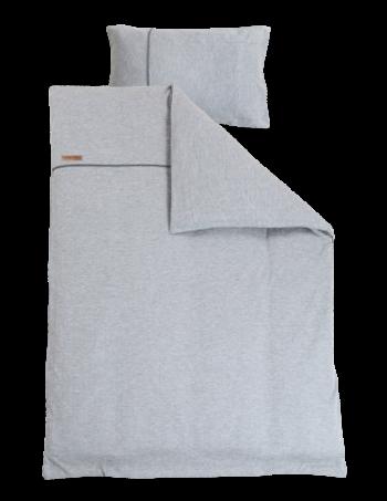 Little Dutch Dekbedovertrek Grey Melange 140 x 200 cm