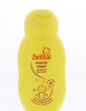 Zwitsal Zeepvrije Wasgel - 75ml mini Reis-verpakking