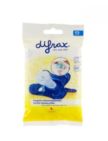 Difrax Fopspeen Schoonmaakdoekjes 25 stuks