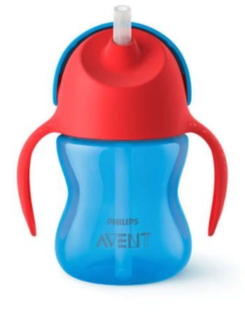 Philips Avent Rietjesbeker Blauw 200 ml